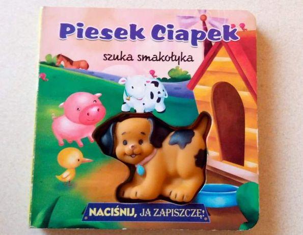 Książeczka Piesek Ciapek szuka smakołyka ZAPISZCZ!