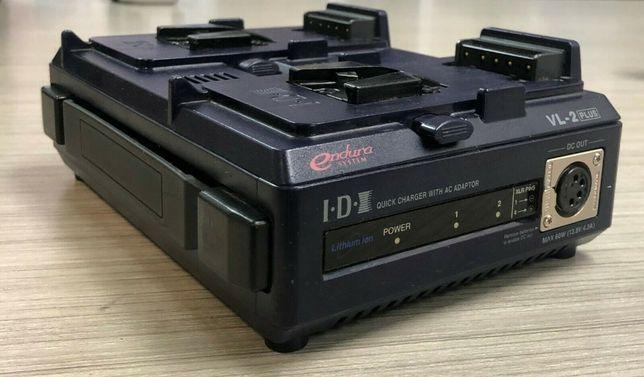 2 baterias IDX Endura 80 , litio, para camera de video + Carregador