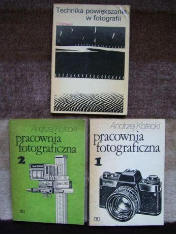 Książki - poradniki - dla wielbicieli fotografowania