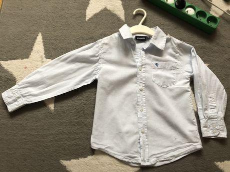 Elegancka koszula w krate 110cm