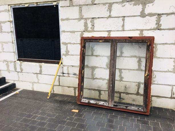 Okno okna 2x 140x140 do Garażu zestaw