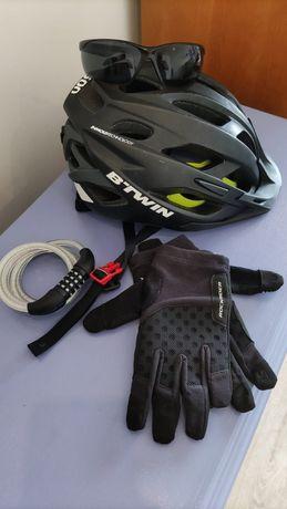 Kit para Bike com Capacete