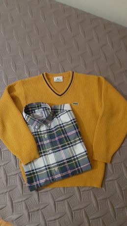 Camisola e camisa