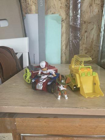 Машинки и герои Щенячего патруля
