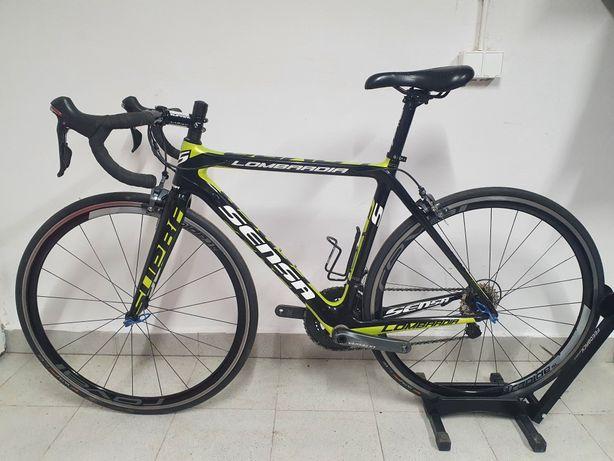 Rower szosowy carbon Sensa Lombardia, Ultegra, Roval, rozm 50 S