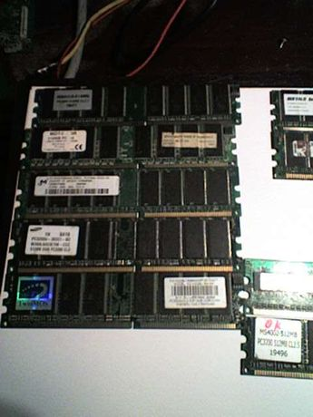 Vendo Memorias De PC DDR 7x512Mb