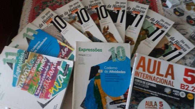Livros 10 / 11 / 12 / 09 /08 /07° ano escolaridade