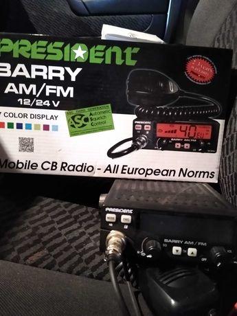 Cb Radio President BARRY AM/FM 12/24 V