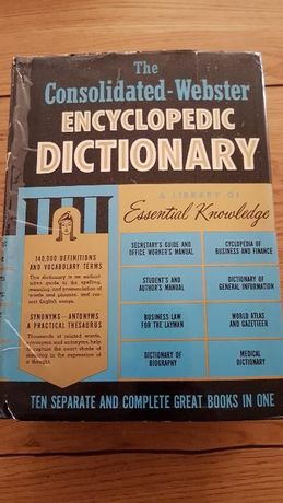 The Consolidated Webster Encyclopedic Dictionary