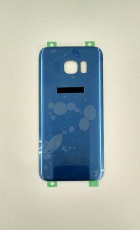Tampa traseira Samsung S7 Edge azul