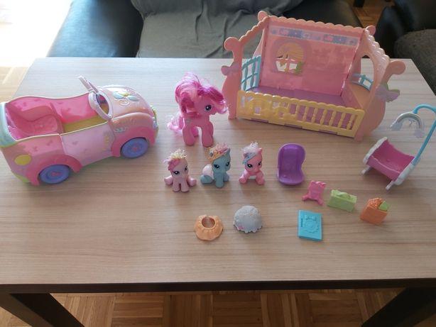 Auto, dzidziusie Pony Hasbro