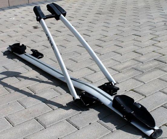 Bagażnik rowerowy na dach Aguri Acuda II Silver aluminiowy za ramę