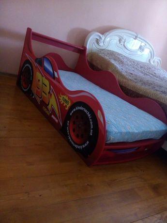 Ліжко машина машинка Маквін+Безкоштовна доставка по Україні