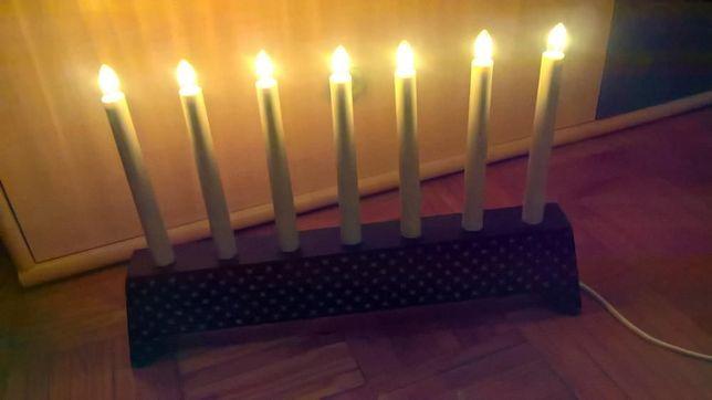 Candelabro Iluminação 7 Velas Electrico
