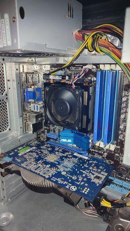 Игровой ПК PC gtx 550ti 4 ядра по 3.4 озу 8 Гб WOT,CSGO,GTA5,wicher