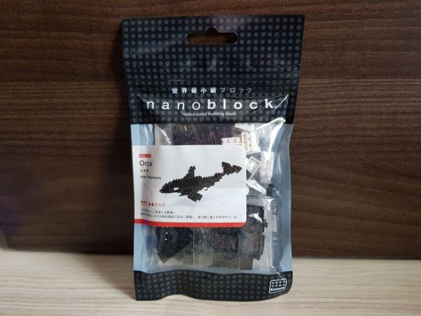 Klocki Nanoblock NAN-NBC136 Orca , Nano Block NOWE OKAZJA Lego
