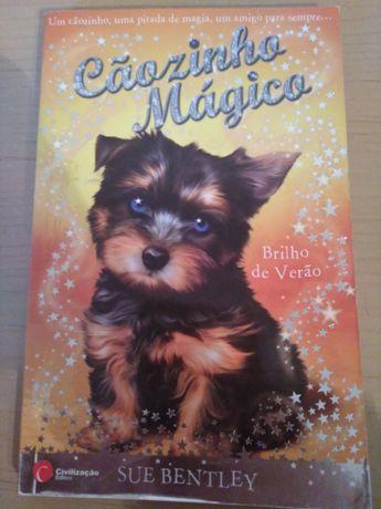 """""""Cãozinho Mágico - Brilho de Verão"""" de Sue Bentley"""