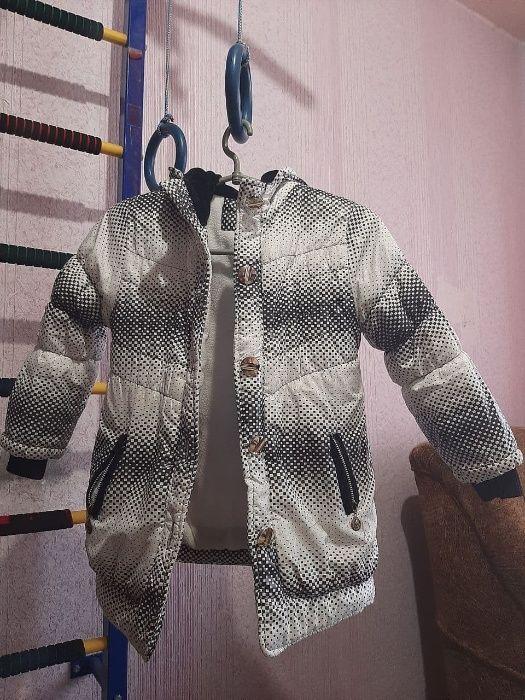 Куртка Зимняя на Девочку 7-9 лет Донецк - изображение 1