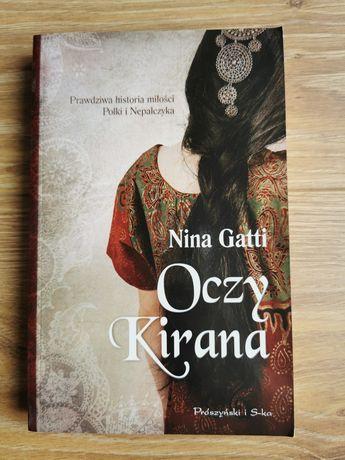 """Książka """"Oczy Kirana"""" Nina Gatti"""