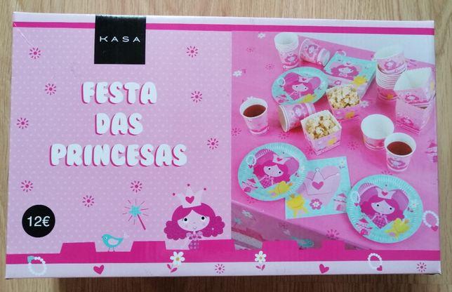 "Kit para Festa de Aniversário ""Princesas"" (Novo)"