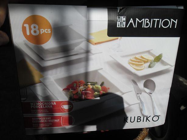 Zestaw Komplet obiadowy Kubiko