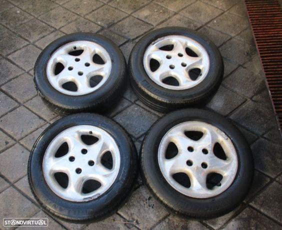 4 Jantes 15 Citroen Peugeot 4x108 Cromadas