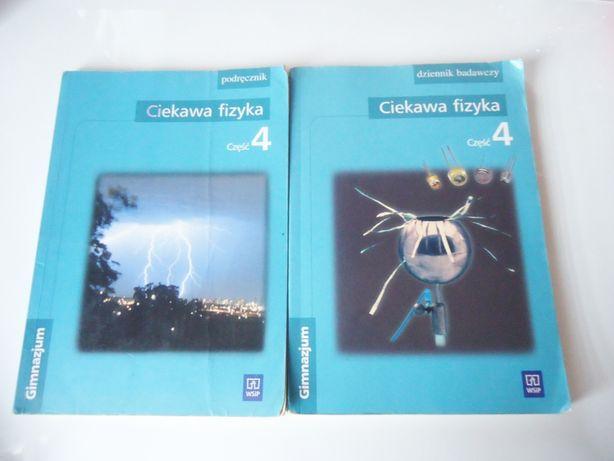 Ciekawa fizyka 4 podręcznik + dziennik badawczy + CD