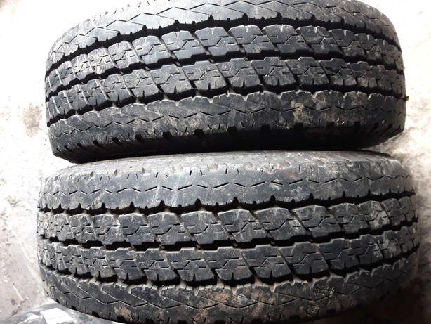 шини літо 195 70 R15C Bridgestone Duravis R630 бу 9mm