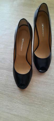 Класичні туфлі лодочки, шкіра, 35.5