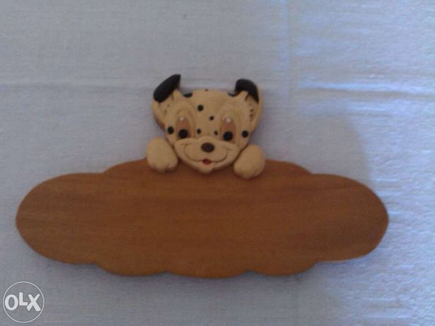Cabide de criança - cãozinho- oferta de portes