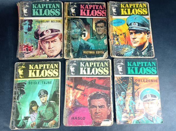 Hans Kloss komiksy zestaw PRL