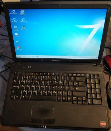 Ноутбук Lenovo с новой Виндовс 7 (оптическая мышка в подарок)