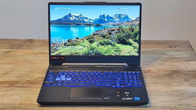 Laptop Asus TUF Gaming FX506, RTX 3060, nowy, 3 lata gwarancji