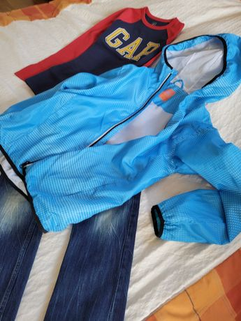 Cool Club niebieska chłopięca kurtka - z szafy Bolka i Lolka