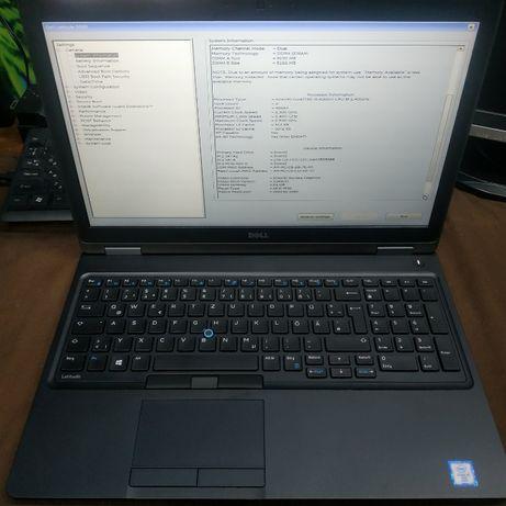 Ноутбук Dell 5580 15.6' FHD i5 6300u ddr4 8gb m2sata 240 как новый