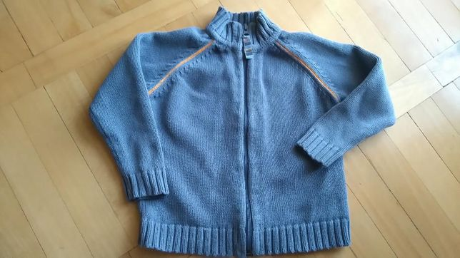 Sweter sweterek rozpinany na zamek H&M 98 cm