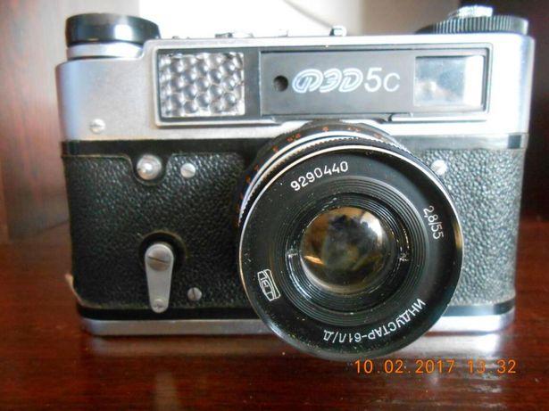 Плёночный фотоаппарат ФЕД-5