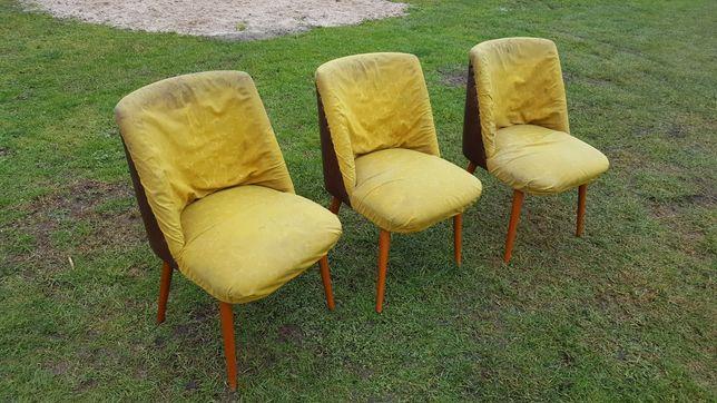 Fotele / krzesła kubełkowe / muszelki / klubowe vintage art deco retro