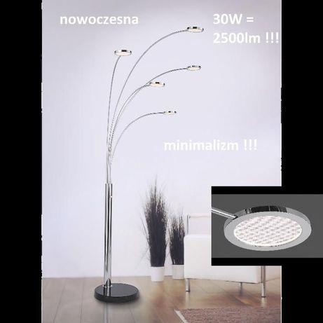 Lampa podłogowa stojąca wędka marmur LED ściemniacz ringi nola 2500zł