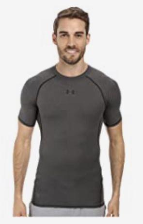 Майка футболка серая under armour Nike adidas Reebok