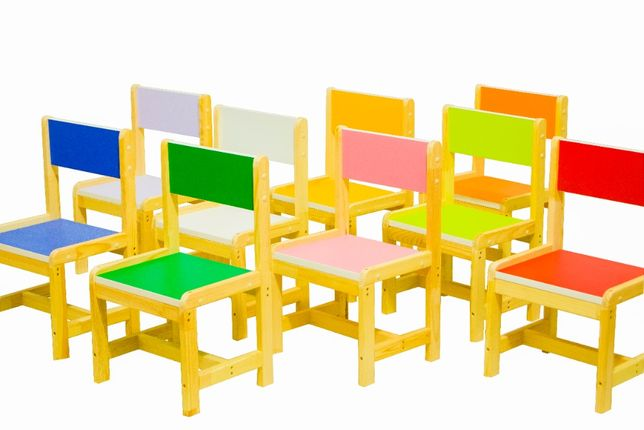 Стульчики для детских садов , детский стульчик , стульчик деревнный .