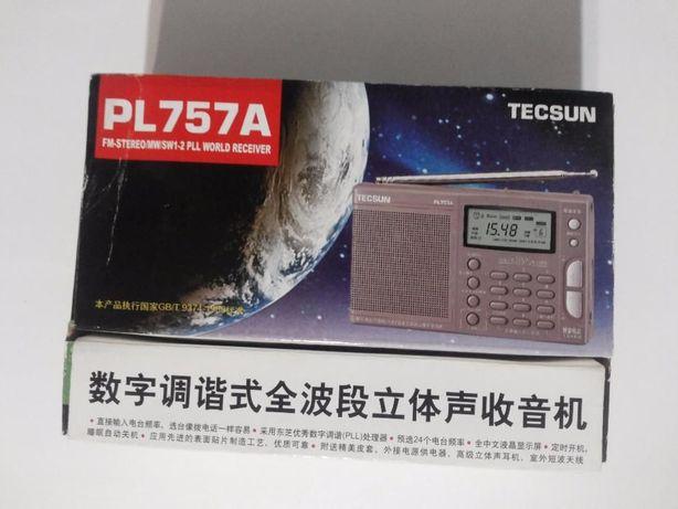 Радиоприемник TECSUN PL-757A (комплектующие Toshiba)