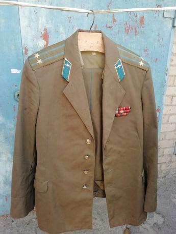 Китель военный, офицер ВВС СССР