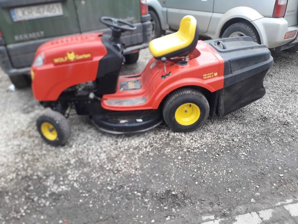 Traktorek kosiarka wolf garden