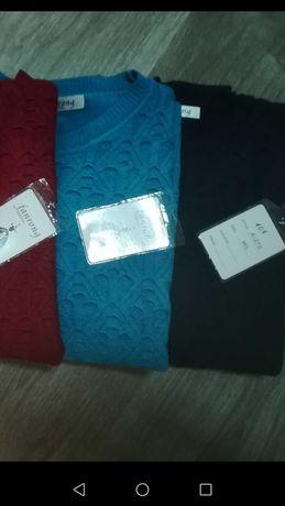 Camisolas malha várias cores Tam M/L 10€