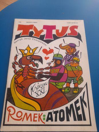 Tytus Romek i Atomek księga XXI