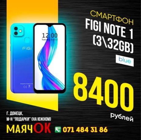 FIGI Note 1 (3GB 32GB) новый в МаячОК 8400рублей