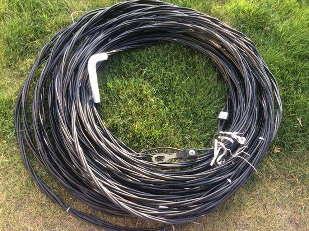 Kabel przewód prąd budowlany aluminiowy