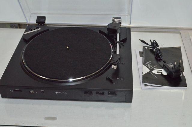 Gramofon przedwzmacniacz automatyczny Fullmatic Auna