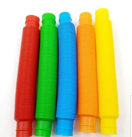 Развивающая сенсорная детская игрушка Pop Tube антистресс поп туб 70